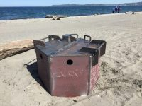 NEW AT ALKI: Fire rings replaced   Seattle Informer