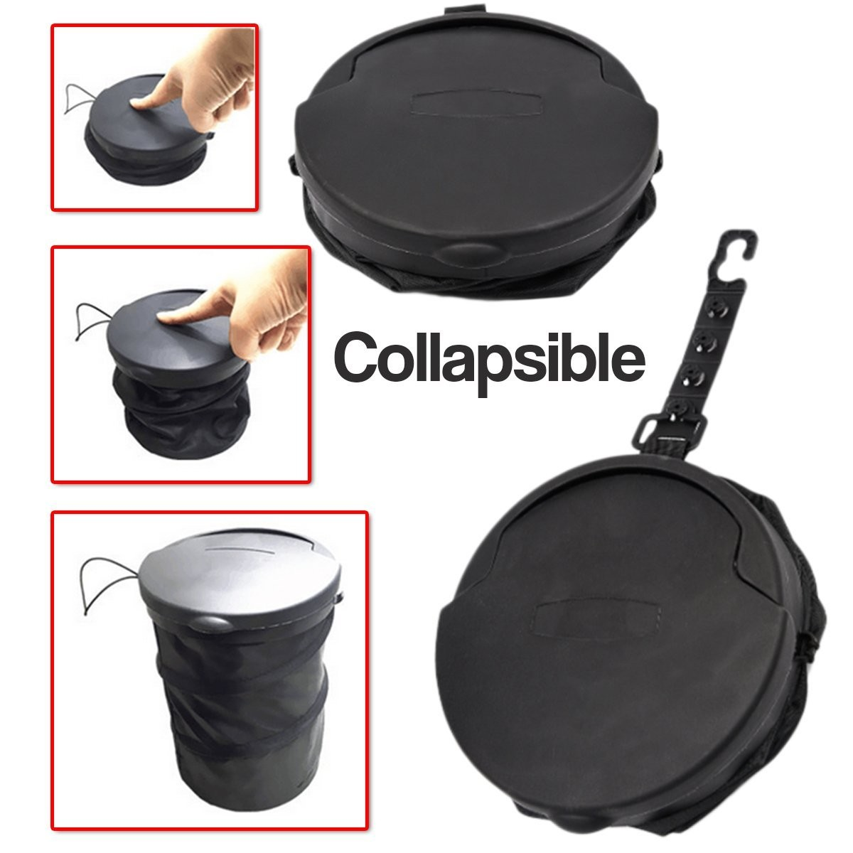 Collapsible Trash Cans Auto Accessories Headlight Bulbs Car Gifts Zone Tech