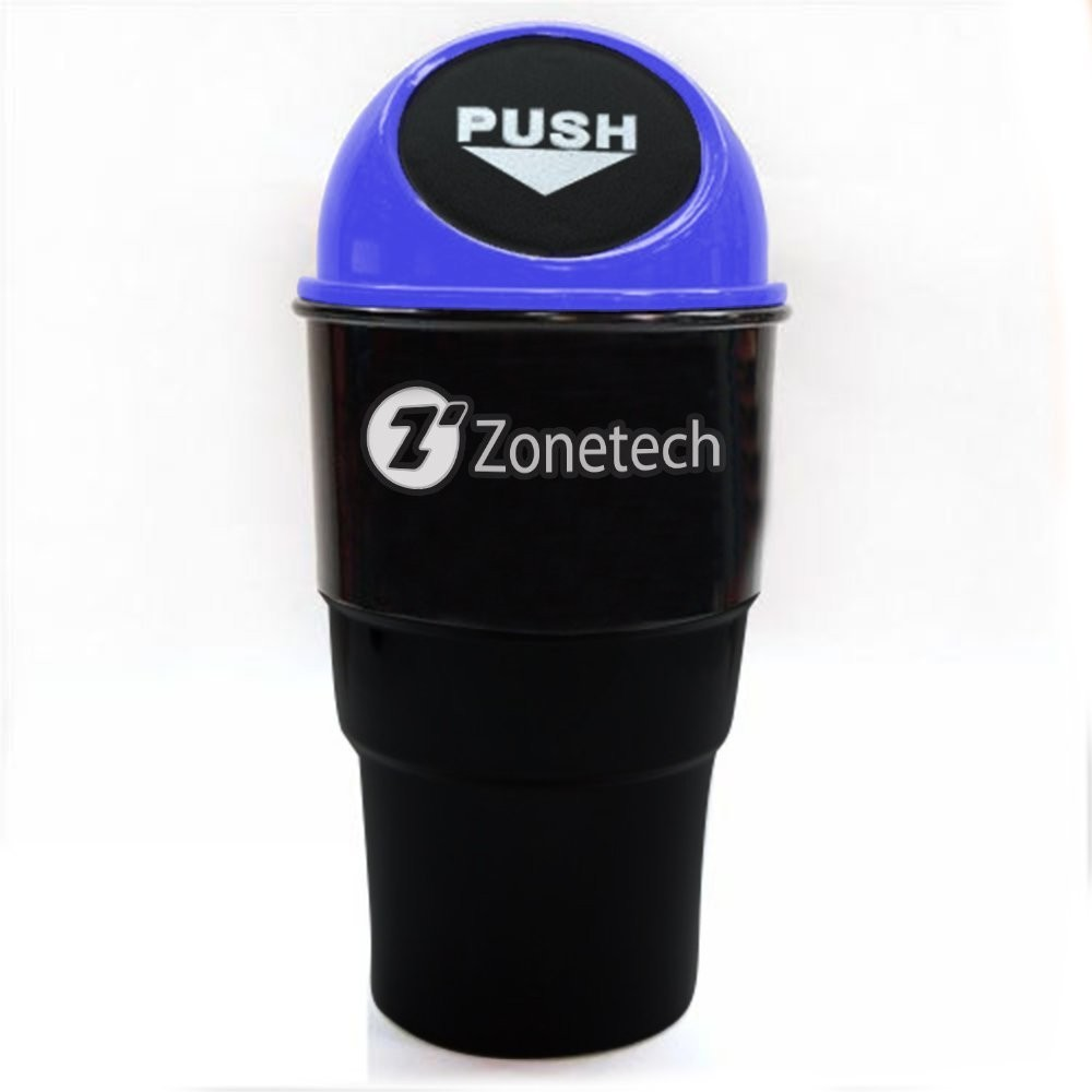 Mini Plastic Trash Can With Lid Auto Accessories Headlight Bulbs Car Gifts Zone Tech Portable