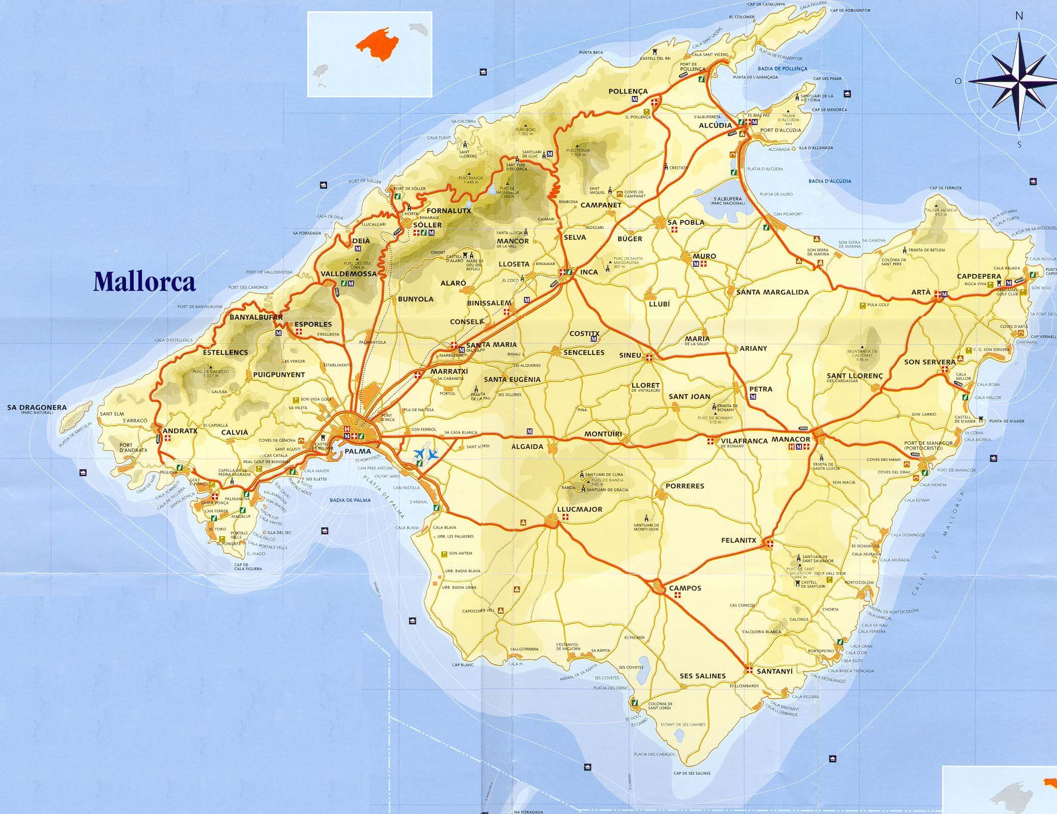 Cheapest Car To Rent Majorca Scenic Drives - Suggestions Mallorca Road Trip