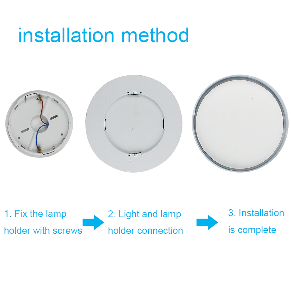 Lamp Method Price Details About 24w 28w Led Flush Mount Ceiling Light Ultra Slim Round Fixture Living Bedroom