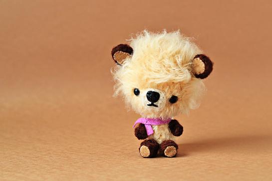 miniature crochet teddy bears pattern, zoomyummy