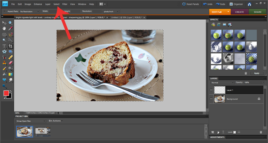 how to add white misty blurred border to a picture with photoshop tutorial, how to set foreground and background colors to black and white, how to use bucket fill tool in Photoshop