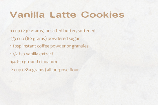 vanilla-latte-cookies-ingredients