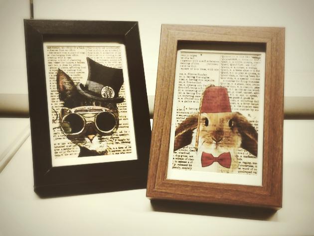 ikea wooden photo frames