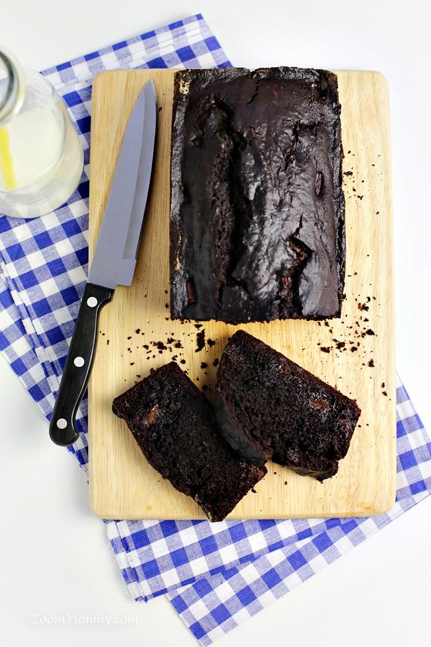 double chocolate banana bread recipe