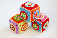 Crochet Soft Toy Cube