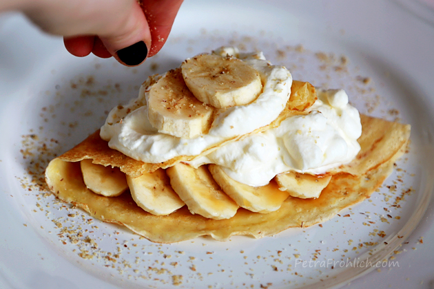 Banoffee crêpes recipe