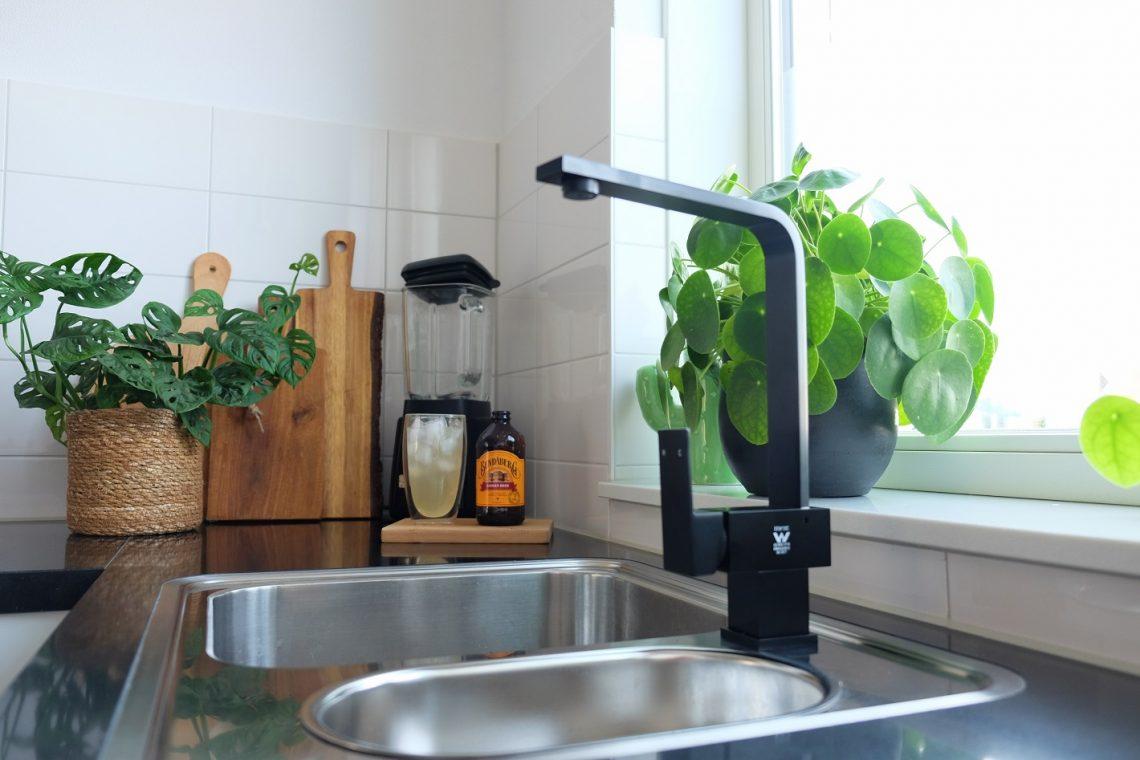 Zwarte Kraan Badkamer : Zwarte kraan keuken innenarchitektur mooi zwarte kranen in