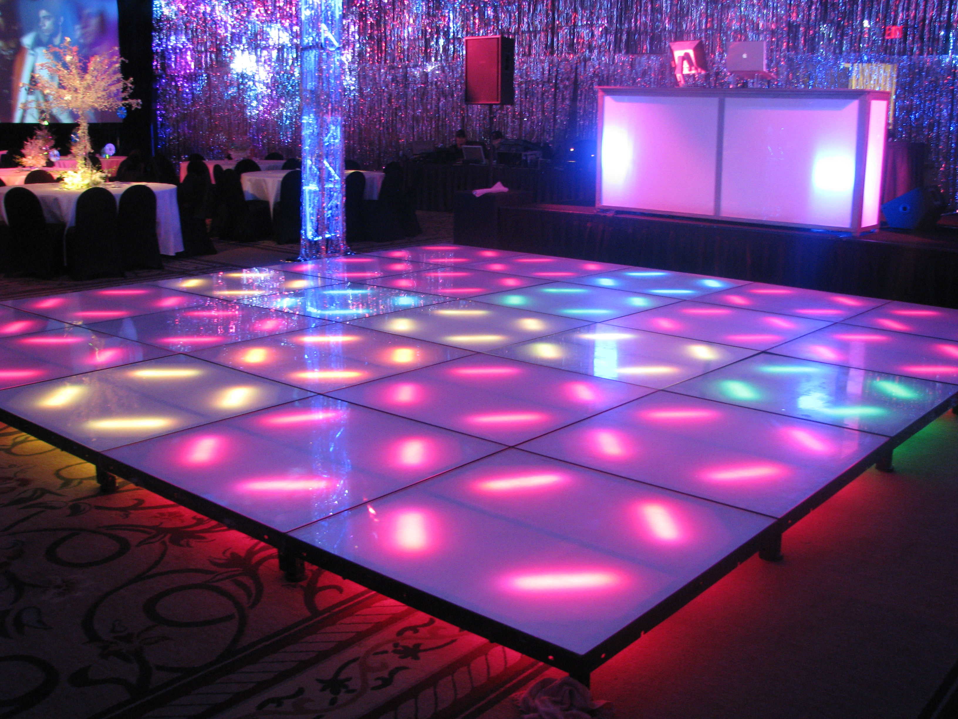 Lighted Dj Booths Lounge Decor Concierge Events