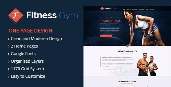 Fitness Gym - HTML Template - Zozotheme WordPress Themes, Bootstrap