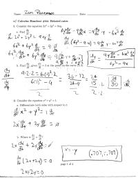 worksheet. Related Rates Worksheet. Grass Fedjp Worksheet ...
