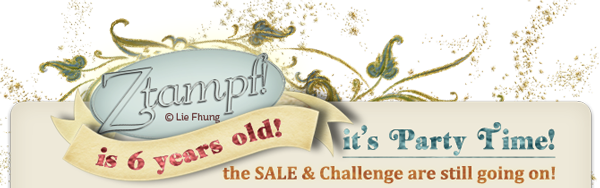 Sale & Challenge are still on @ Studio Ztampf!