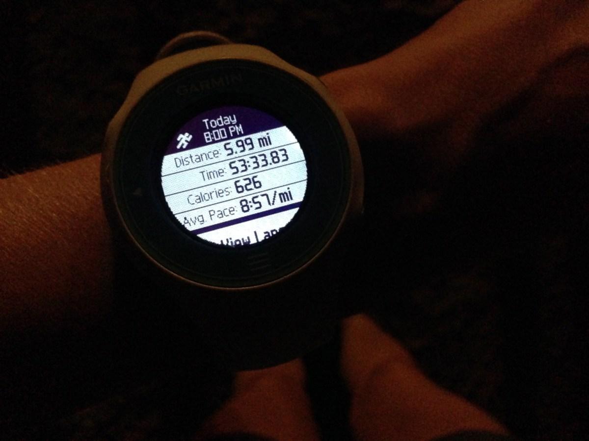 Adrenaline Night Run Race Recap