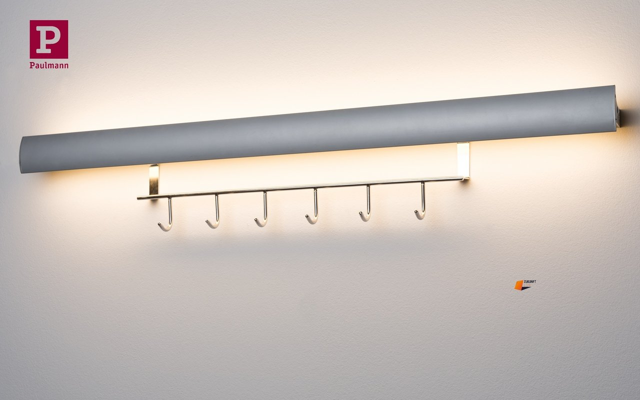 Wand Led Leiste Paulmann Swing Kitchen Rail Hook Led Leiste 6 3w Blende Schwenkbar Alu Eloxiert