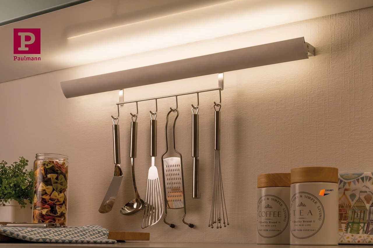 Leiste Küchenutensilien Paulmann Swing Kitchen Rail Andhook Led Leiste 6 3w Blende