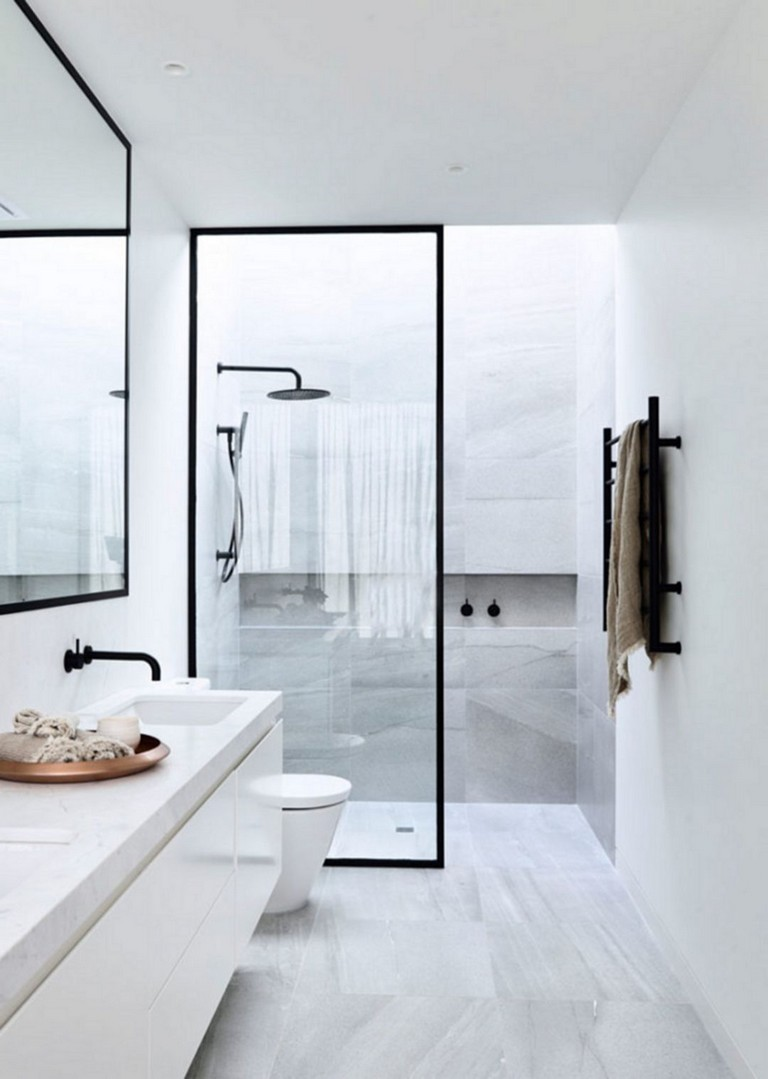 167 Top Modern Bathroom Shower Ideas For Small Bathroom