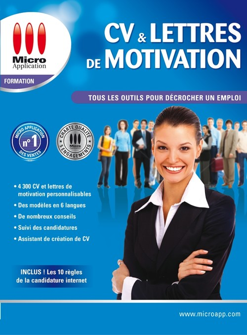 cv et lettres de motivation micro application