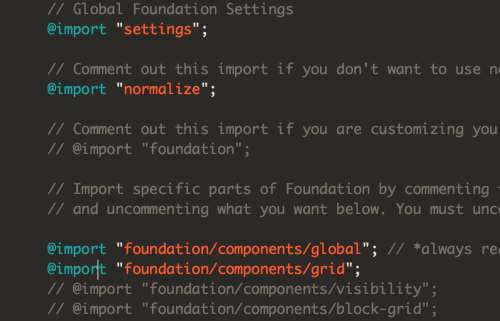 Calm Zurb Things You Know About Foundation If You Will Recall If You Will A Sentence A New Comment Out Uncomment Globals You Can Use Your File That Comes Down