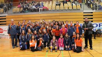 ŽURDova dekleta uspešna na 3. Koper Handball Cup turnirju