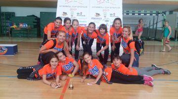 ŽURDOVE NAJMLAJŠE IZREDNO USPEŠNE NA 18. Turnirju  handball cup Zasavje 2017