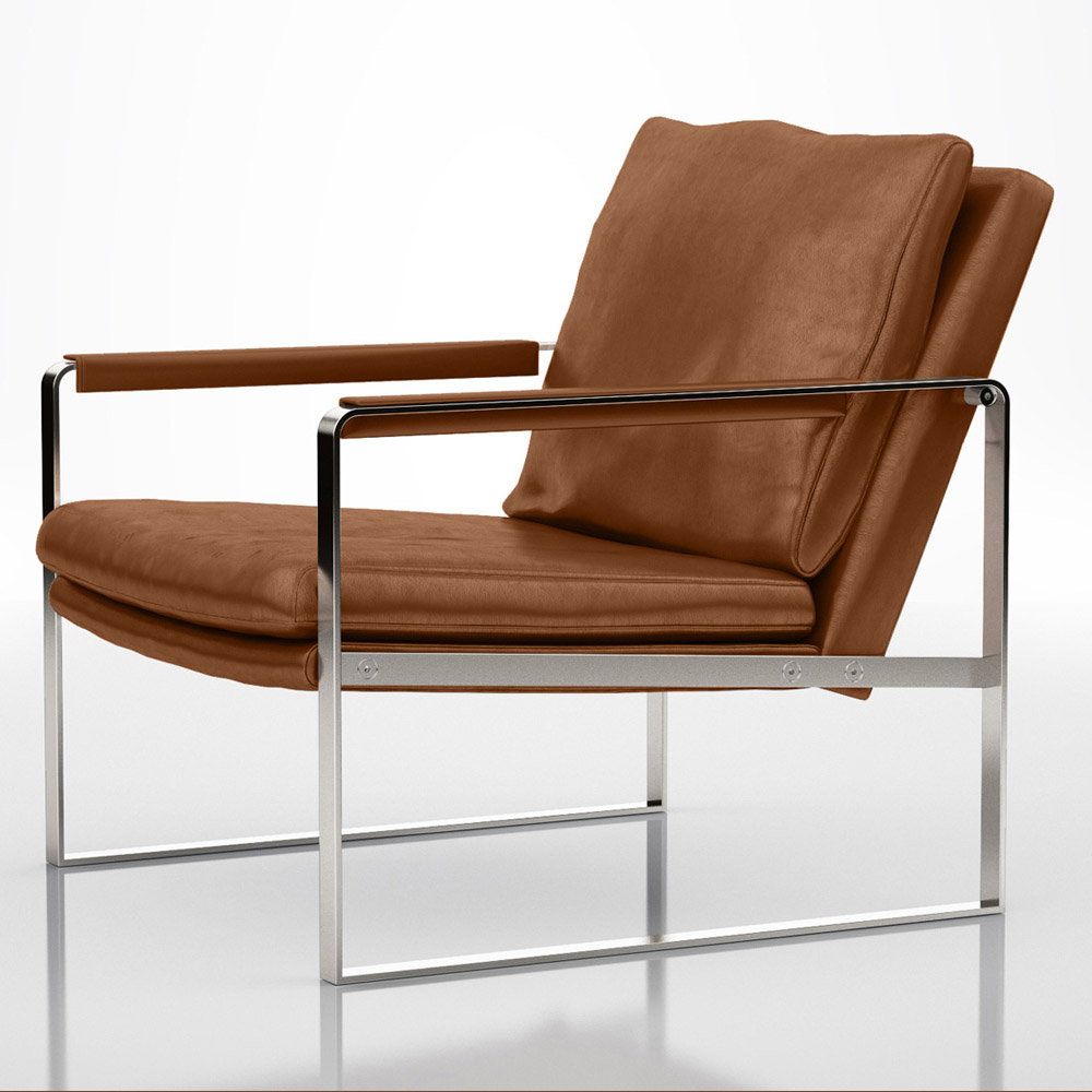 Leather Lounge Alex Lounge Chair