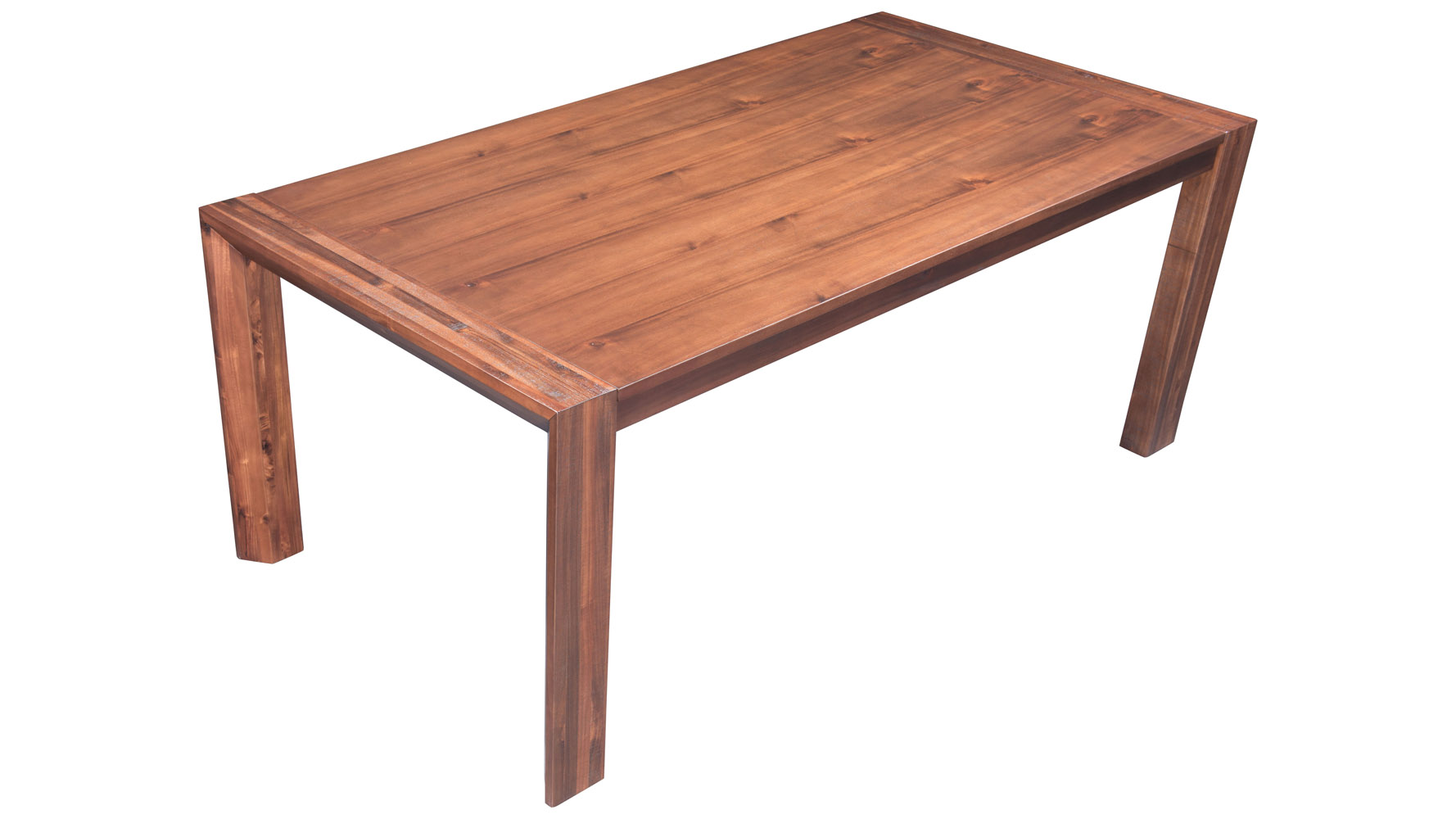 Acacia Dining Table Colville Acacia Wood Extension Dining Table Chestnut