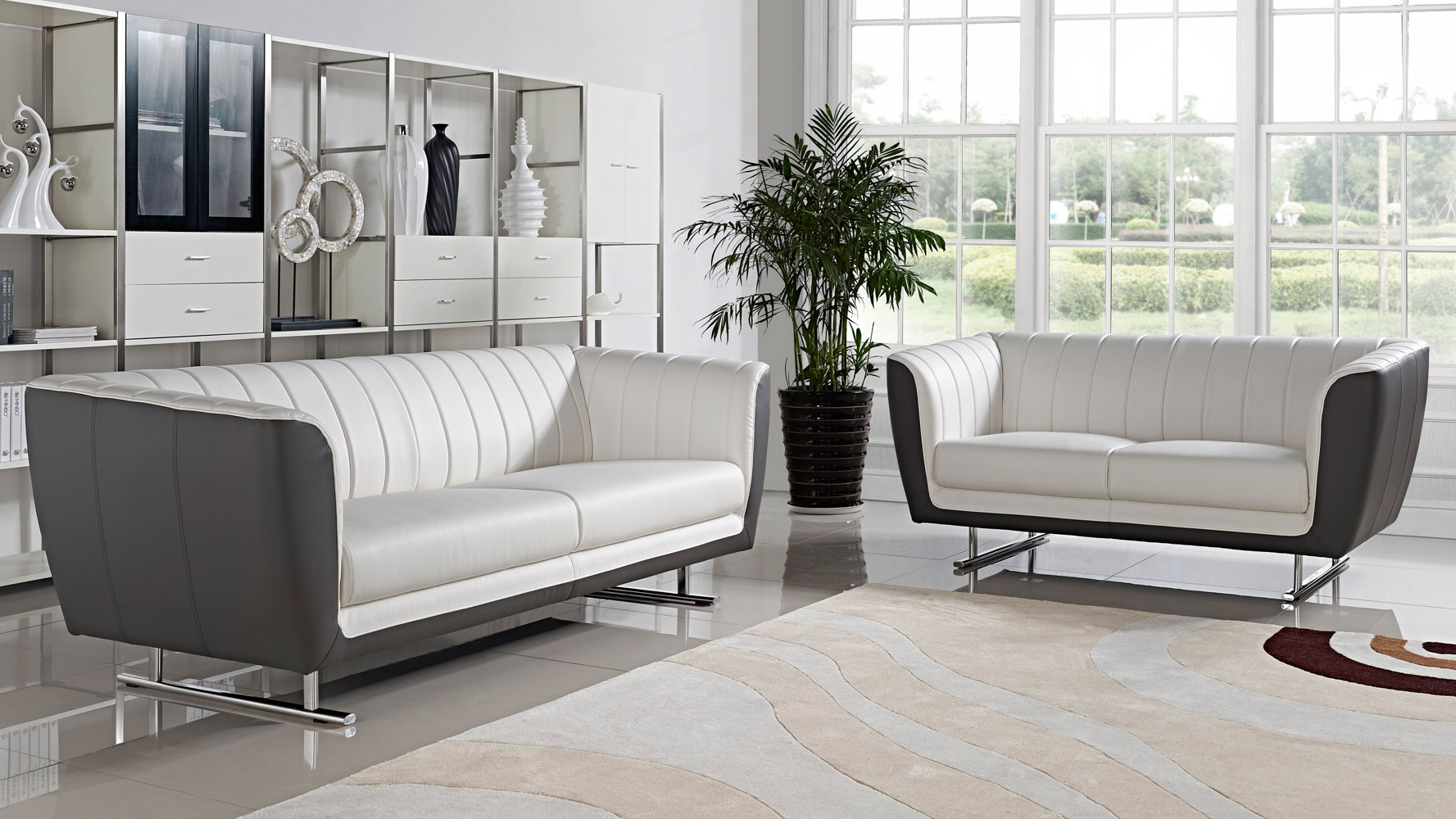 Sofa Set Offer Up Delta 3 432 431 Sofa Set White Zuri Furniture