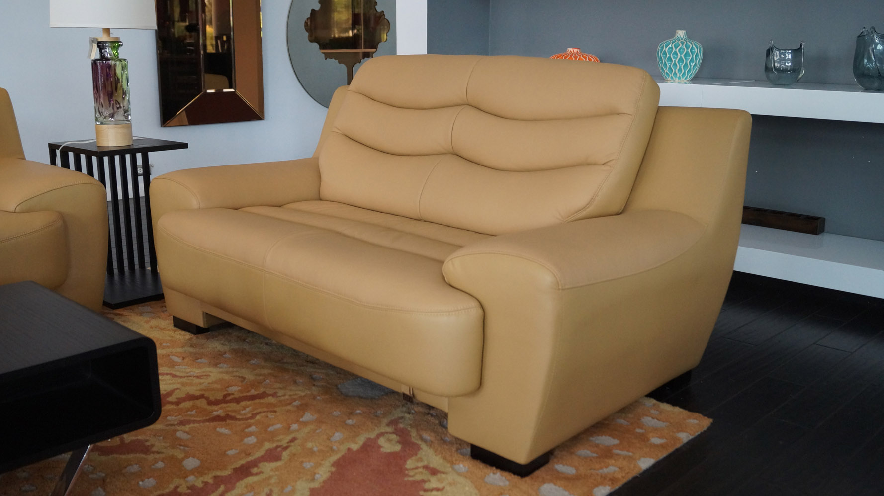 Sofa Set Laguna Philippines Laguna 3 Piece Mustard Yellow Leather Sofa Set Zuri