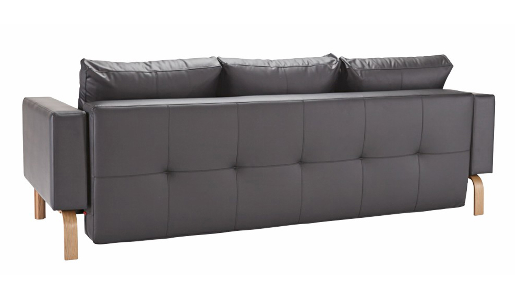 Big Sofa Maximus Maximus Lacquered Oak Sofa In Black Zuri Furniture
