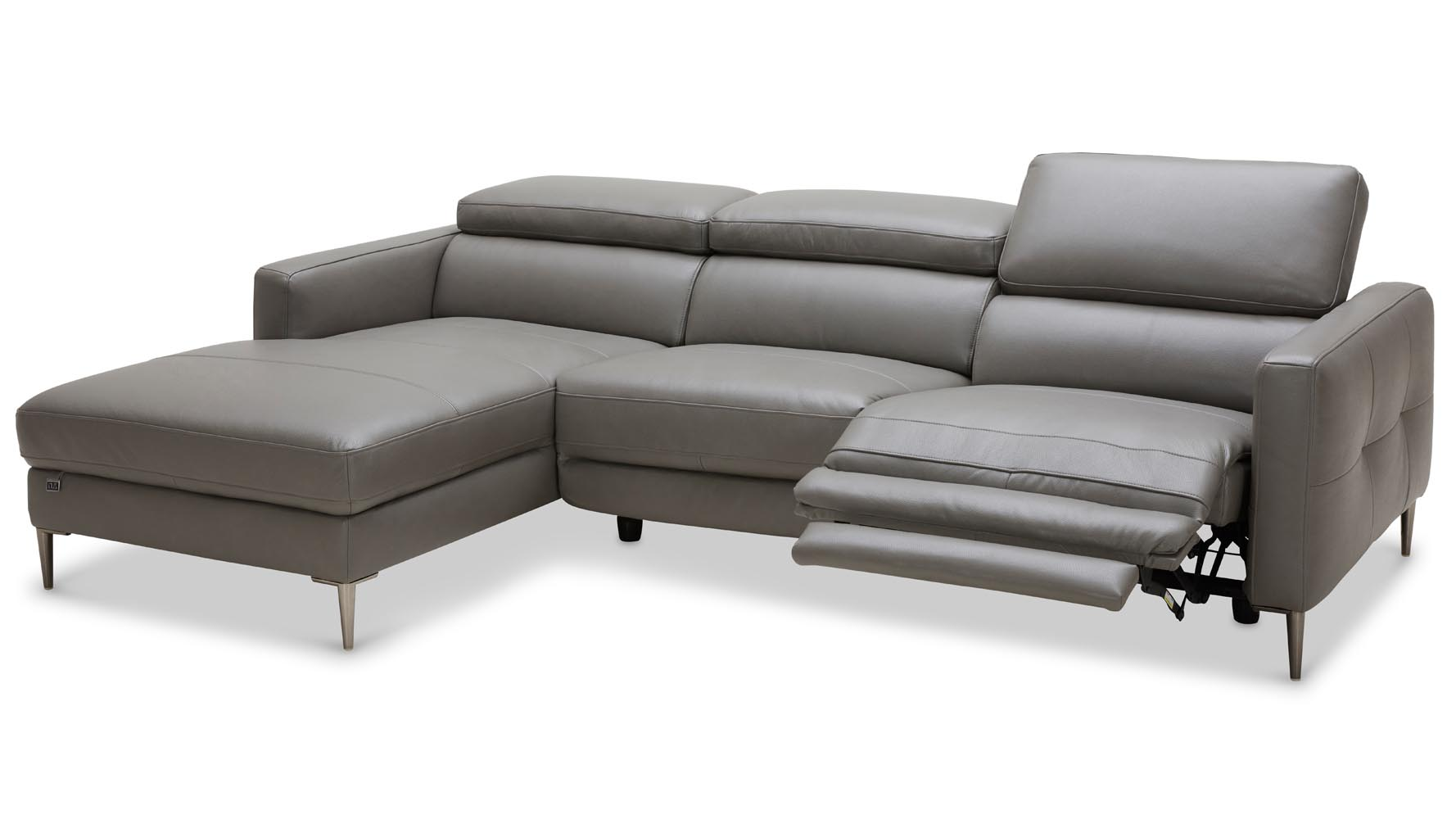 Leather Sofa With Chaise Modern Leather Sofa With Chaise Probably Fantastic Fun
