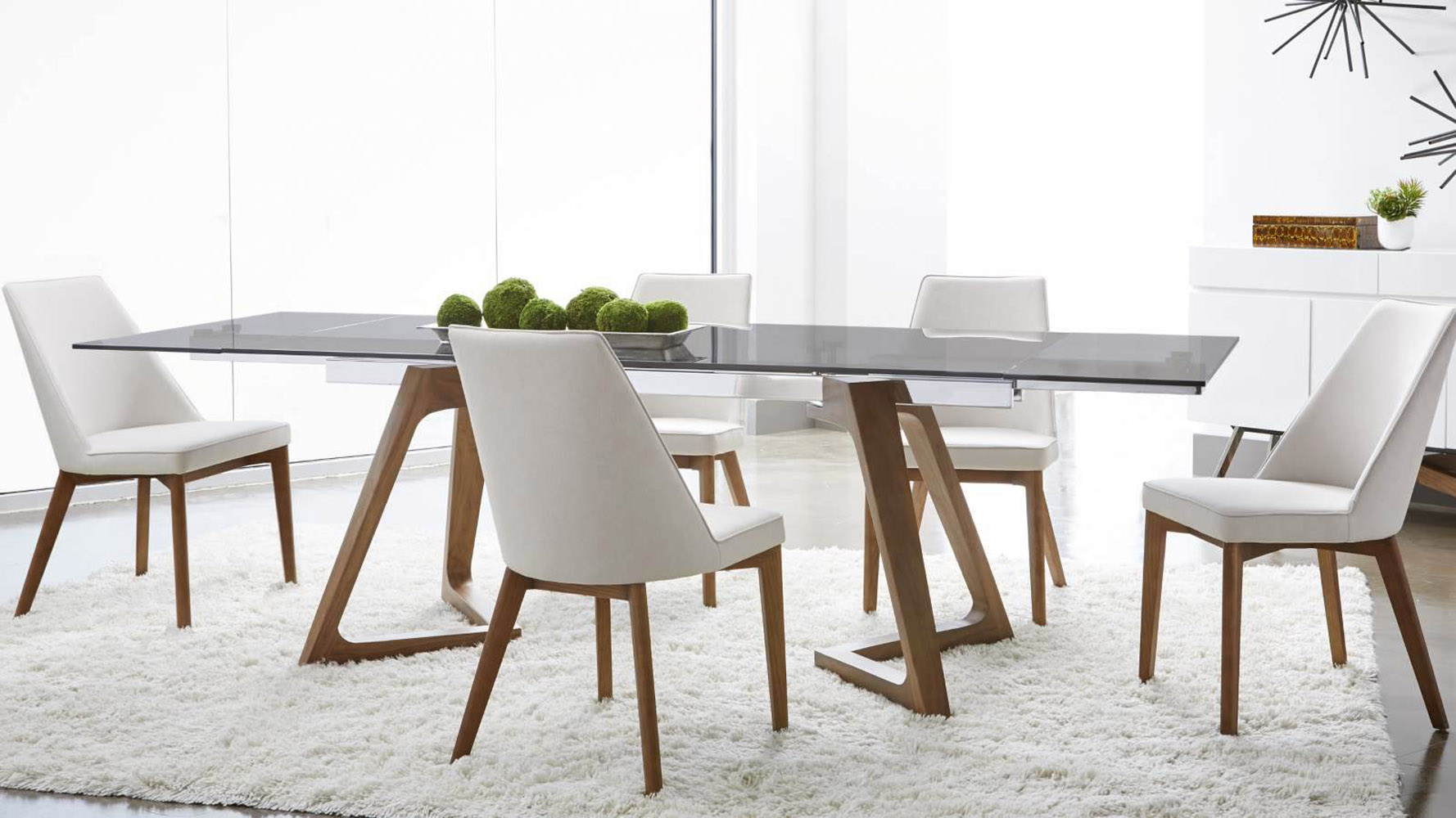 Table Noyer Design Noyer Extension Dining Table