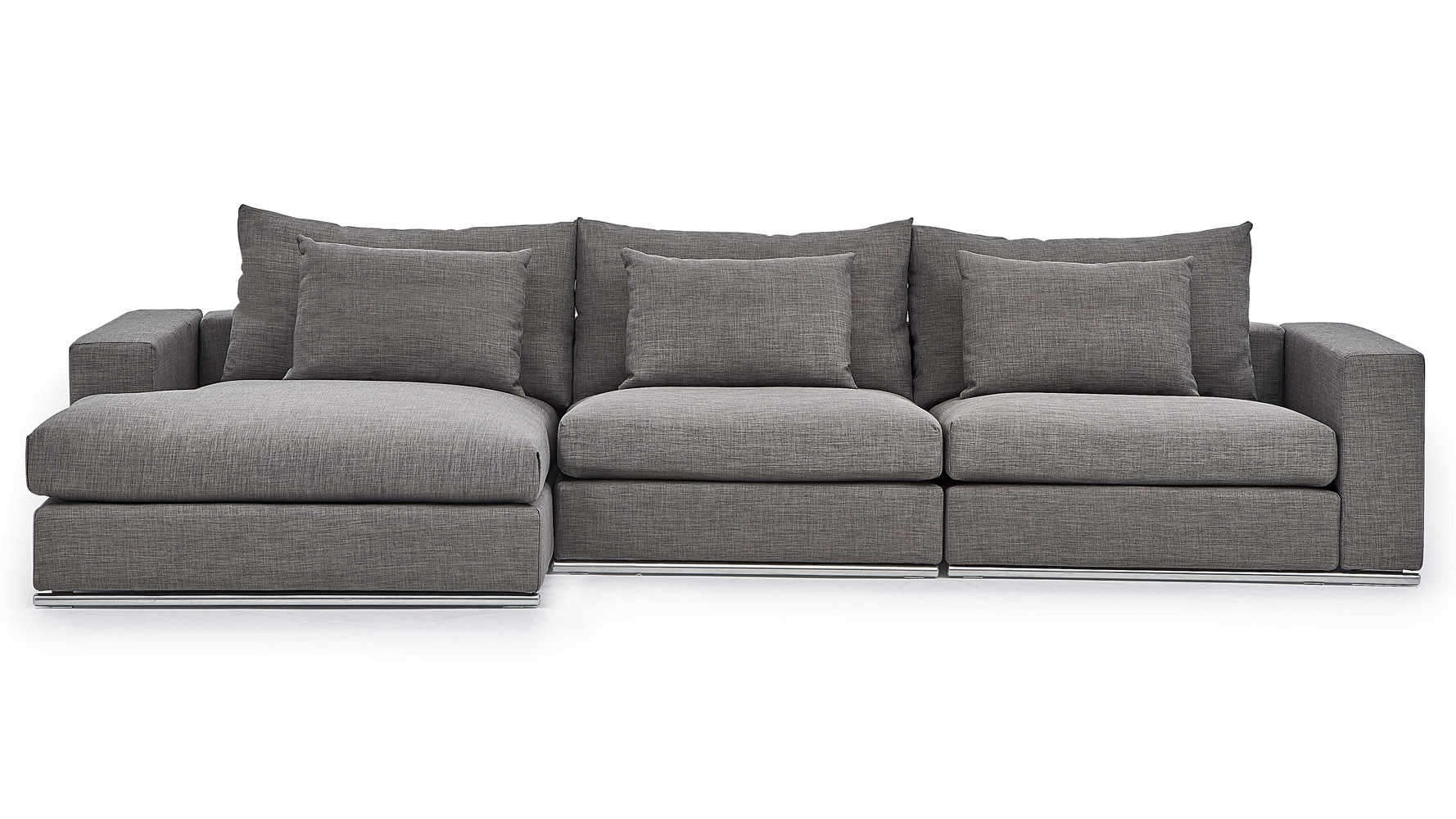 Muebles Soriano Soriano Sectional Gray