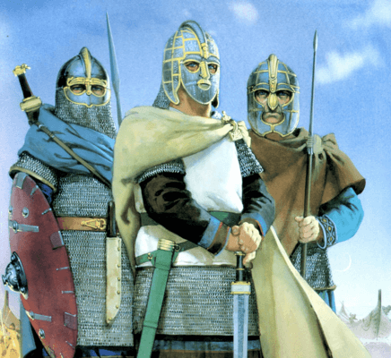 1 anglo saxon warriors