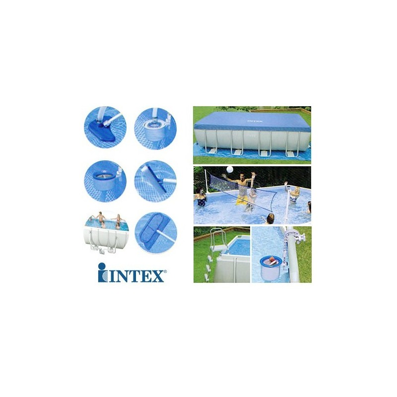 Intex Zwembad 549 X 274 Intex Metal Rectangle Ultra Frame Pool 549 X 274 X 132 Cm