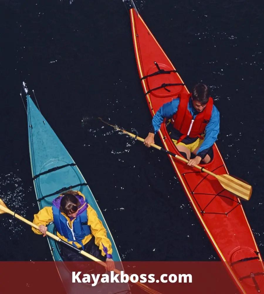 Excessive kayak