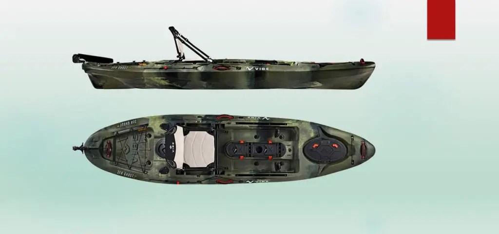 Kayaks for Fat People/Vibe Kayaks Sea Ghost