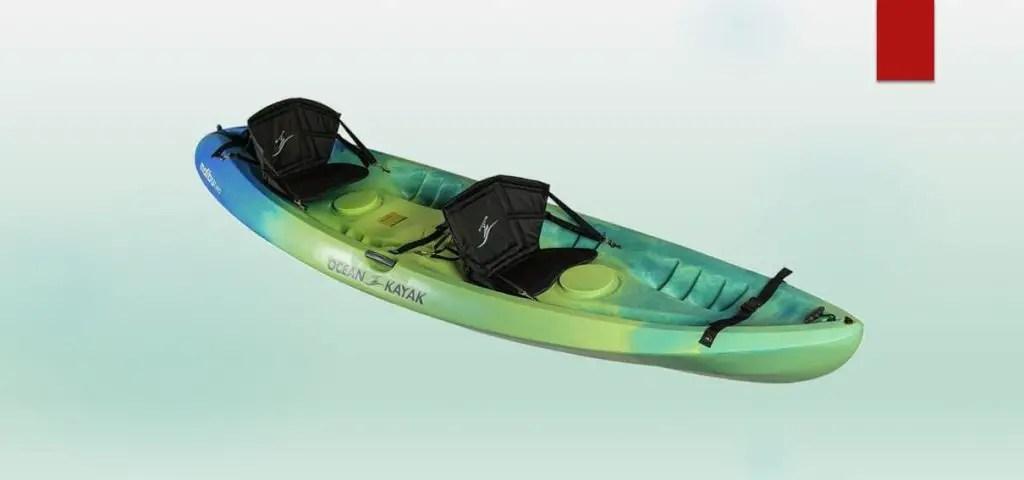 best kayak for heavy person-Ocean Kayak Malibu