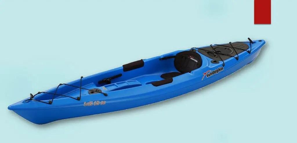 Sun Dolphin Bali SS 12-Foot Sit-on-top Kayak- Sit on top kayak in whitewater