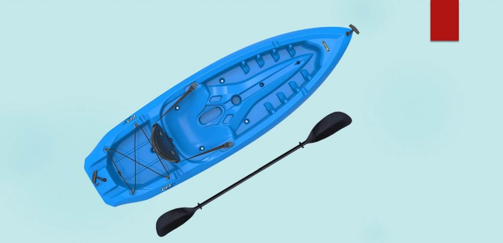 Sit on Top Kayak for Rivers/Lifetime Lotus Sit-On-Top Kayak/