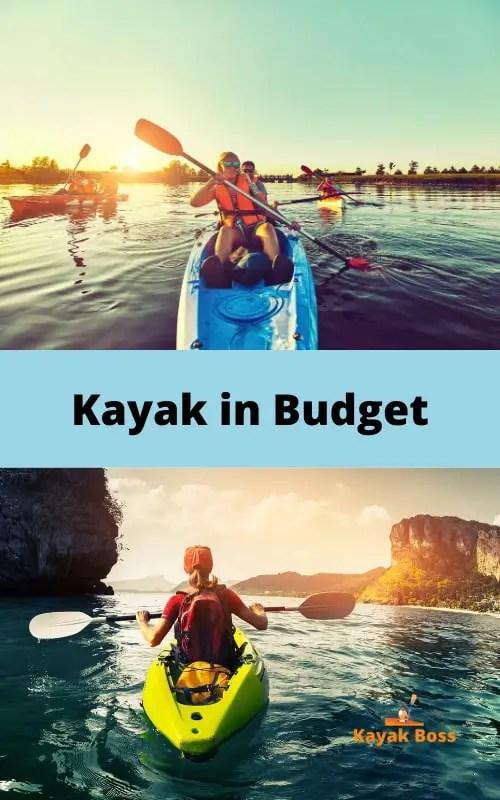 Kayak in Budget