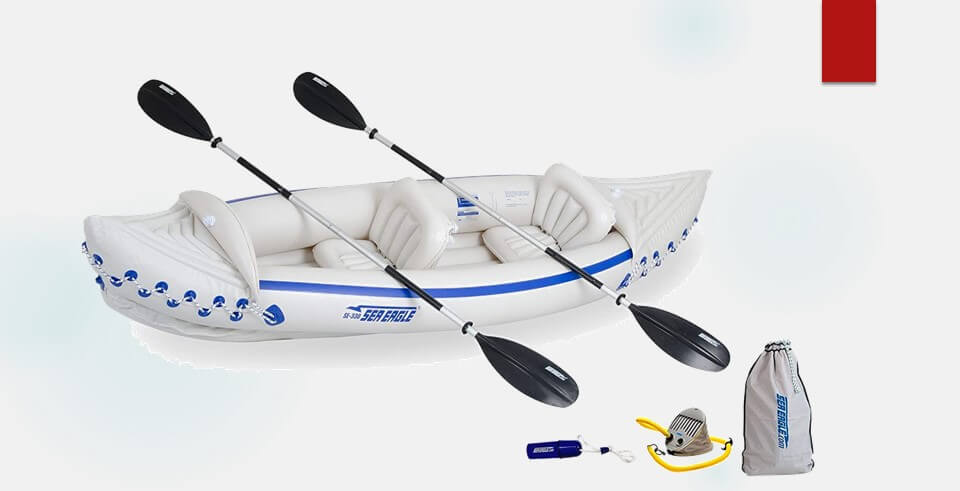 Sea kayak 2 person
