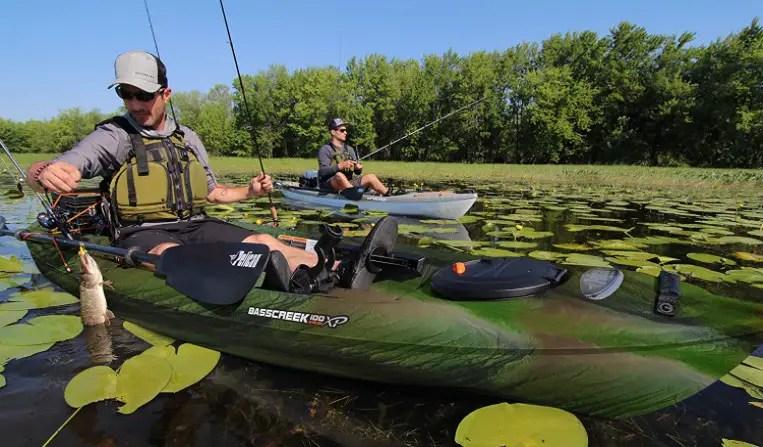 Pelican Sit-On-Top Fishing Kayak – Basscreek 100XP Angler