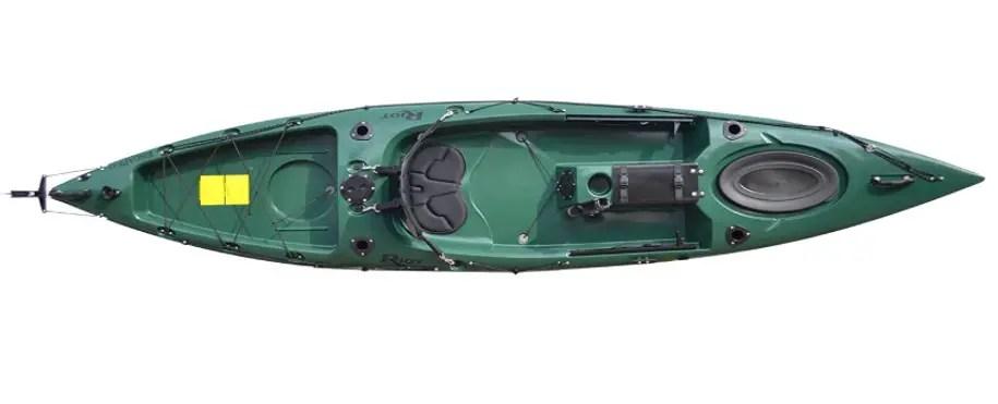 """Riot Kayaks 12"""" Sit-On-Top Fishing Kayak"""