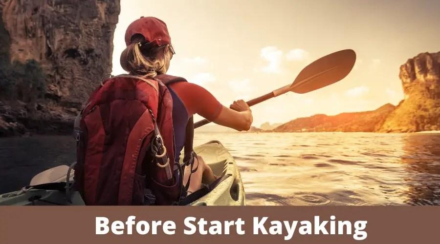 Before Start Kayaking