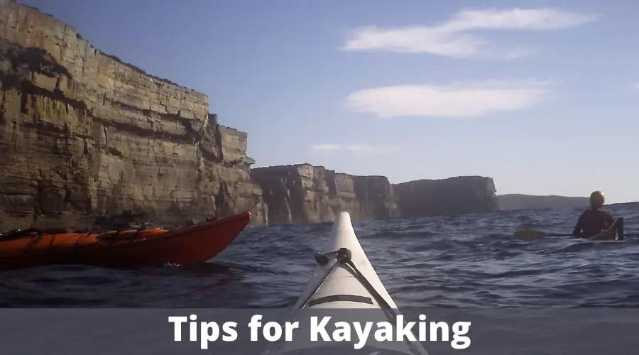 Tips for Kayaking