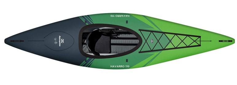 Best for Recreational Use: AQUAGLIDE Navarro 110 Convertible Inflatable Kayak