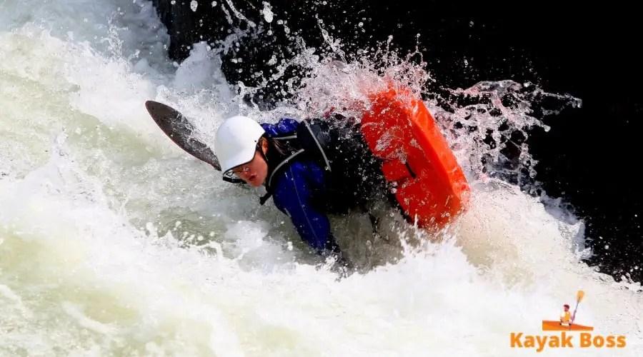 sit-on-top kayak flips