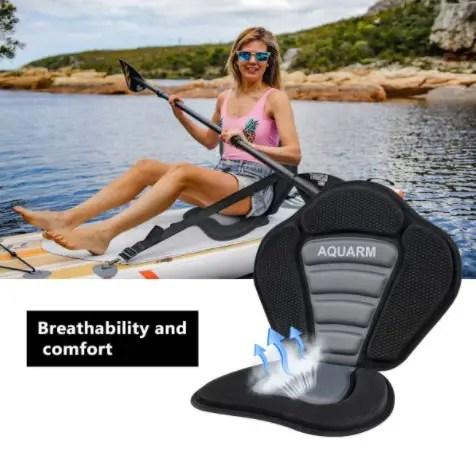 AQUARM Sit-On-Top Kayak Seat with Anti-Skid Pad