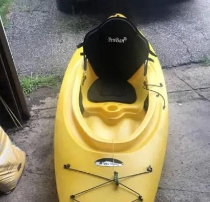 Penban Deluxe Padded Sit-On-Top Kayak Seat